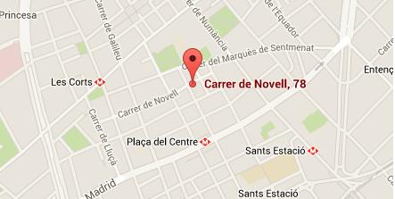 Dónde está el Ateneu de Fabricació de Les Corts